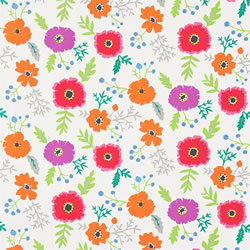 Wind Poppies Fabric