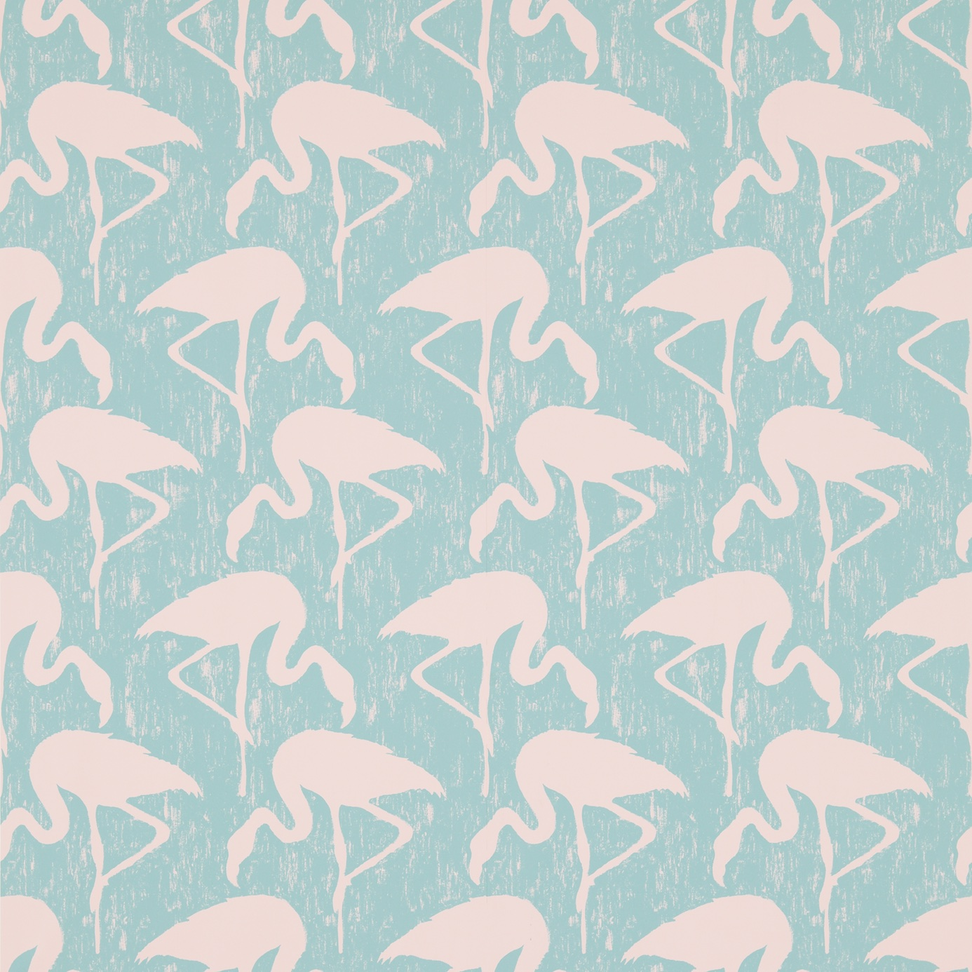 Flamingos by Albany Pink Wallpaper Direct