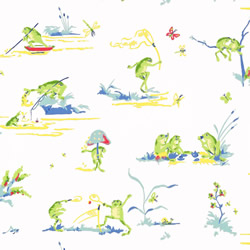 Resort Frogs Wallpaper