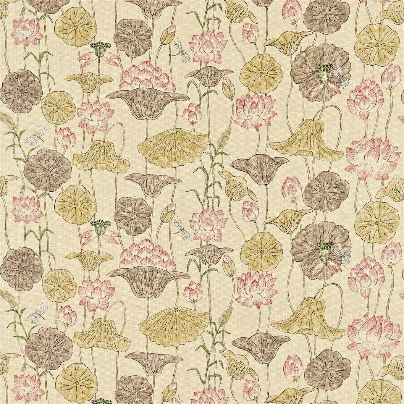 Lotus Flower Fabric Town Country