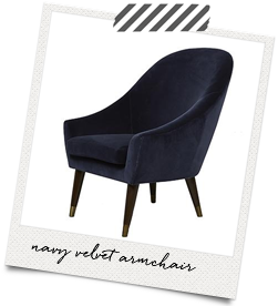 navy-velvet chair